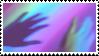 rainbow glow stamp