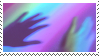 rainbow glow stamp by homu64