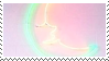 rainbow moon stamp by homu64