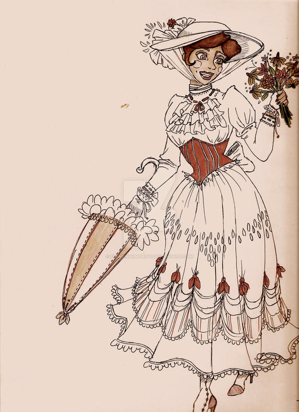 The Lovely Mary Poppins by FrenchHumorist