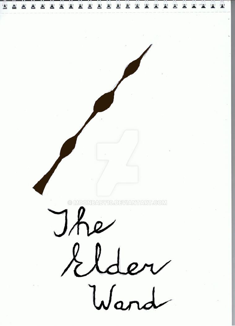 The elder wand by moonbaby10 on deviantart for Where to buy elder wand
