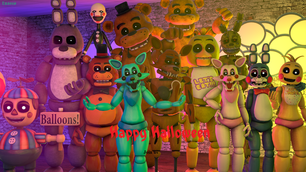 fnaf 4 halloween update mobile