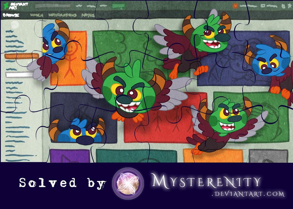 DeviantArt's 2018 Halloween Game SOLVED by Mysterenity