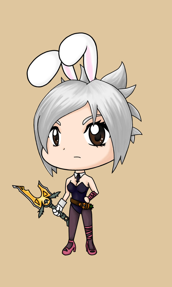 Battle Bunny Riven by Bunny Riven Fan Art
