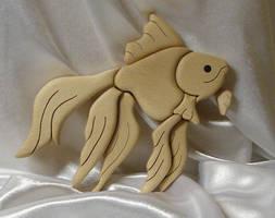 dem fish intarsia