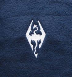 Embroidered Skyrim logo