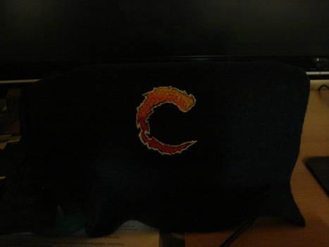Contra logo embroidery