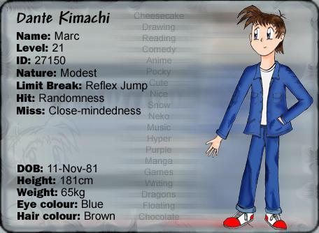 Dante Kimachi DA ID by dante-kimachi