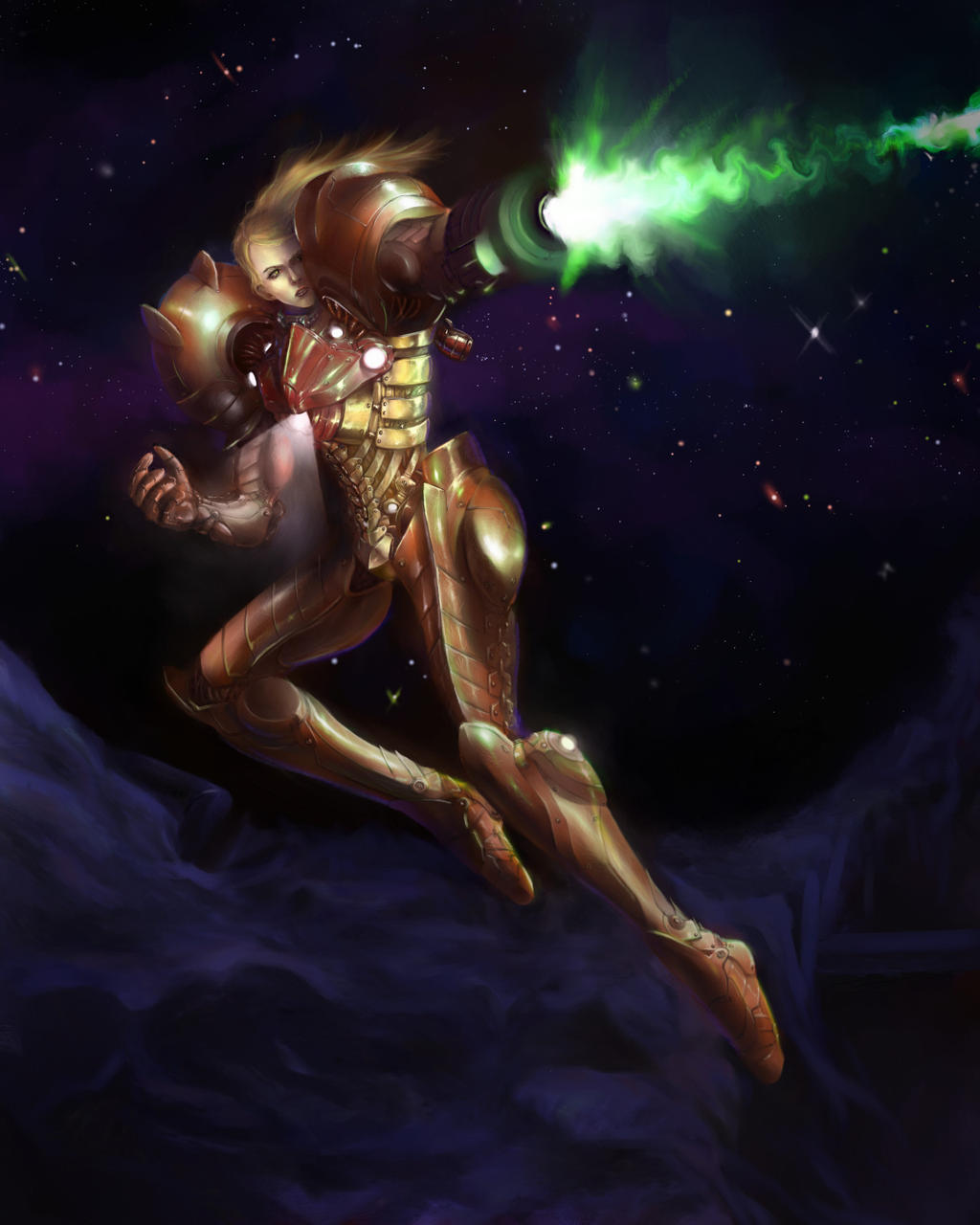 Samus by Mlad