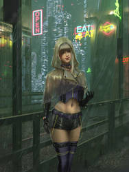 Cyberpunk commission 2