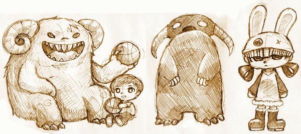 doodles by quttles