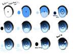Anime eye tutorial (paint tool sai)