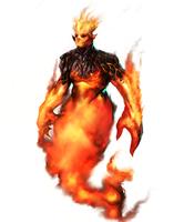 Fire Elemental by WorldsOfMagic