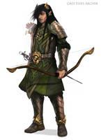 Grey Elves Archer by WorldsOfMagic