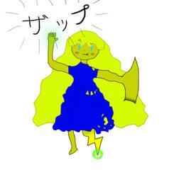 oc i tried to draw in photoshop by CosmoArceus777