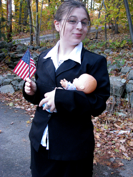 Sarah Palin costume by CarianneCouture