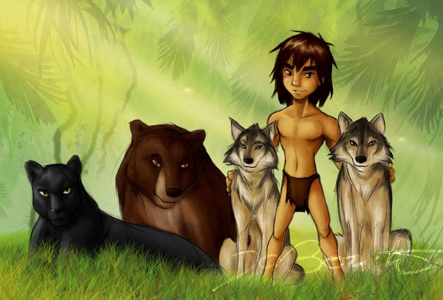 Mowgli by JoBonito