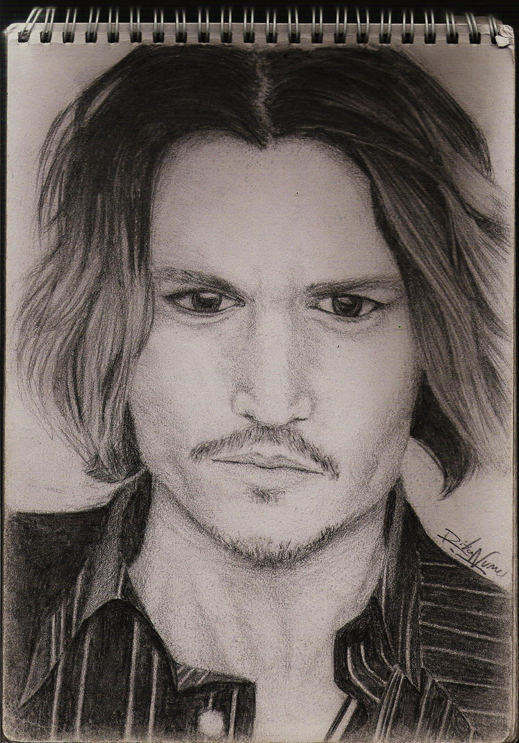 Johnny Depp by Ritunes
