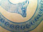 Serpent bleu