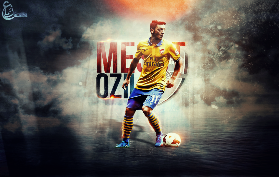 Ozil / Arsenal Graphic Wallpaper by REX0NS on DeviantArt