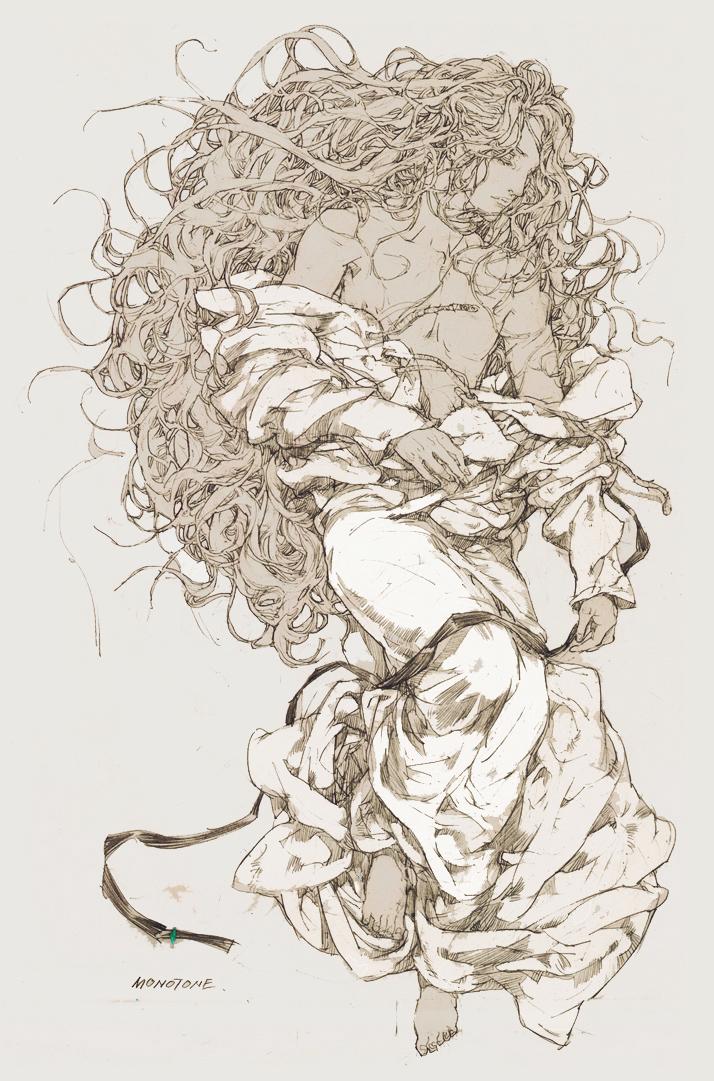 Lou Zhen by monotonelee
