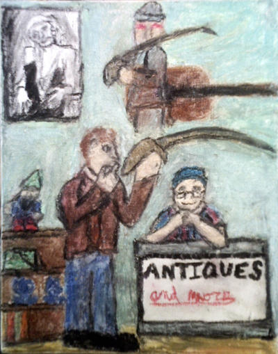 The Antique Sword (Antiques And More) by Eaglehawk4