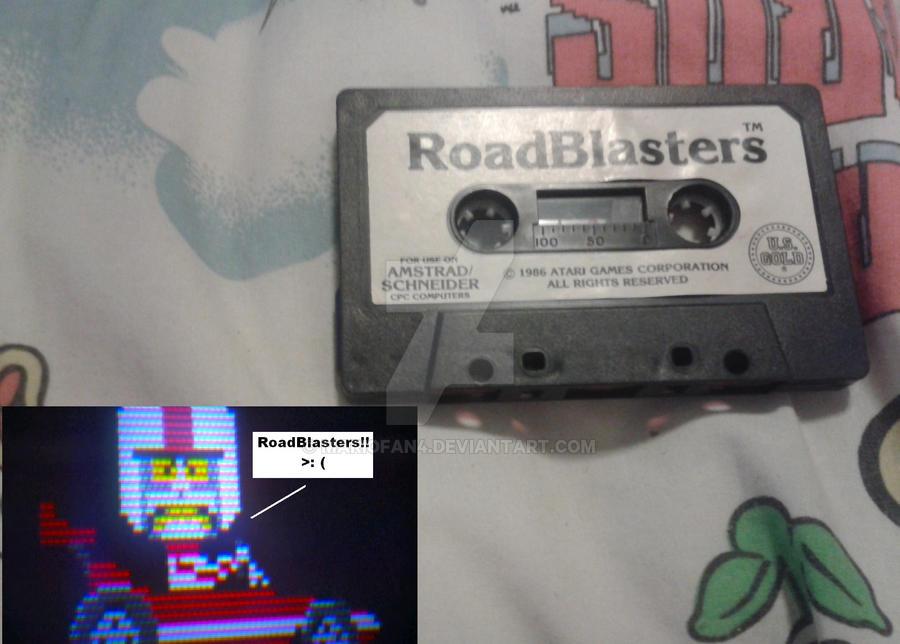 RoadBlasters (amstrad CPC) by MarioFan4