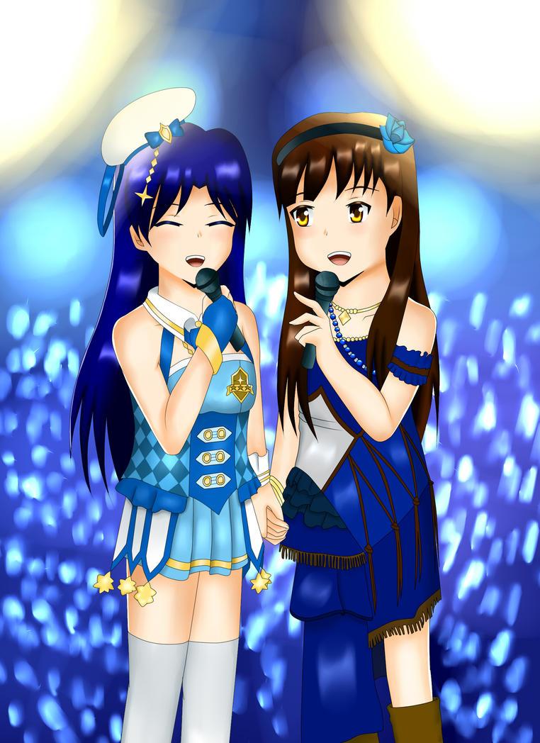 Mingos and Chihaya by Yui-Akizuki