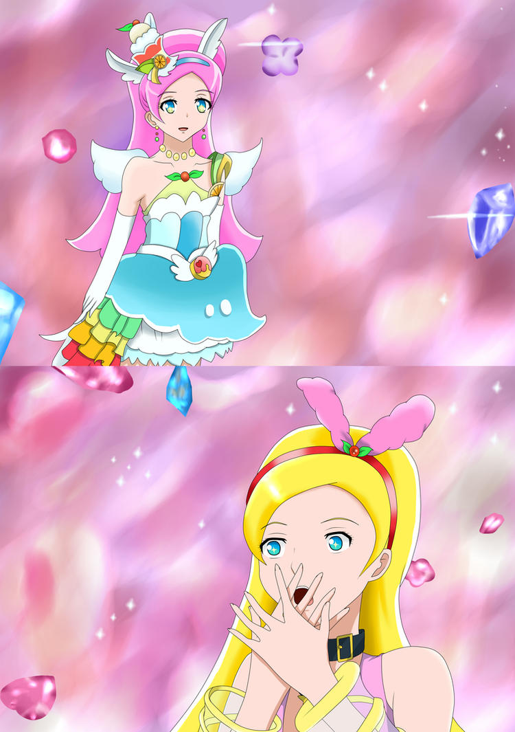 Cure Parfait by Yui-Akizuki