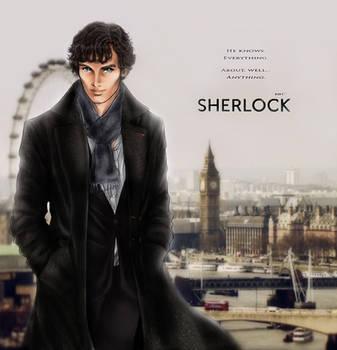 BBC's Sherlock by shatzy-shell