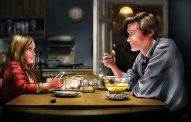 Amelia and the Raggedy Doctor by shatzy-shell