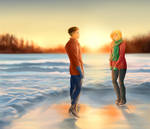 On the russian lake by shatzy-shell