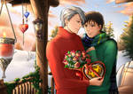 A warm Valentine's day (Victuuri) by shatzy-shell