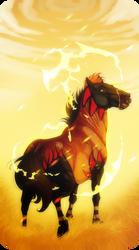 Padro I Dagger's Point I fire pony