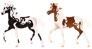 N7212 and N7213 Padro Foal Designs
