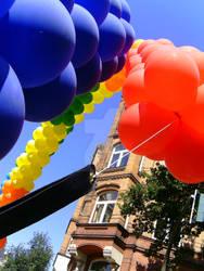 rainbow ballons II by blacksheep-aki