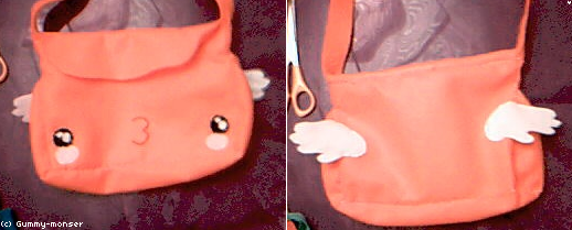 Cute Angelic Bag by Gummy-Monster