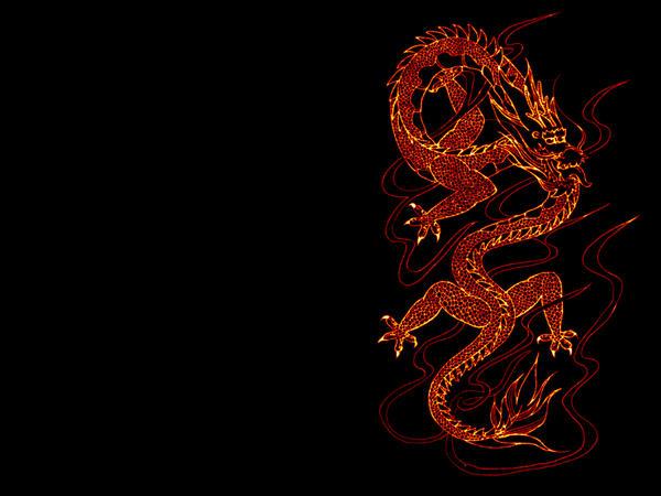 Chinese dragon wallpaper by Nigrita on DeviantArt