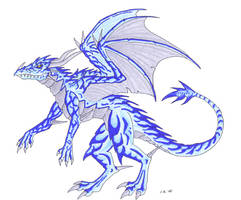 Frostdragon by Psydrache