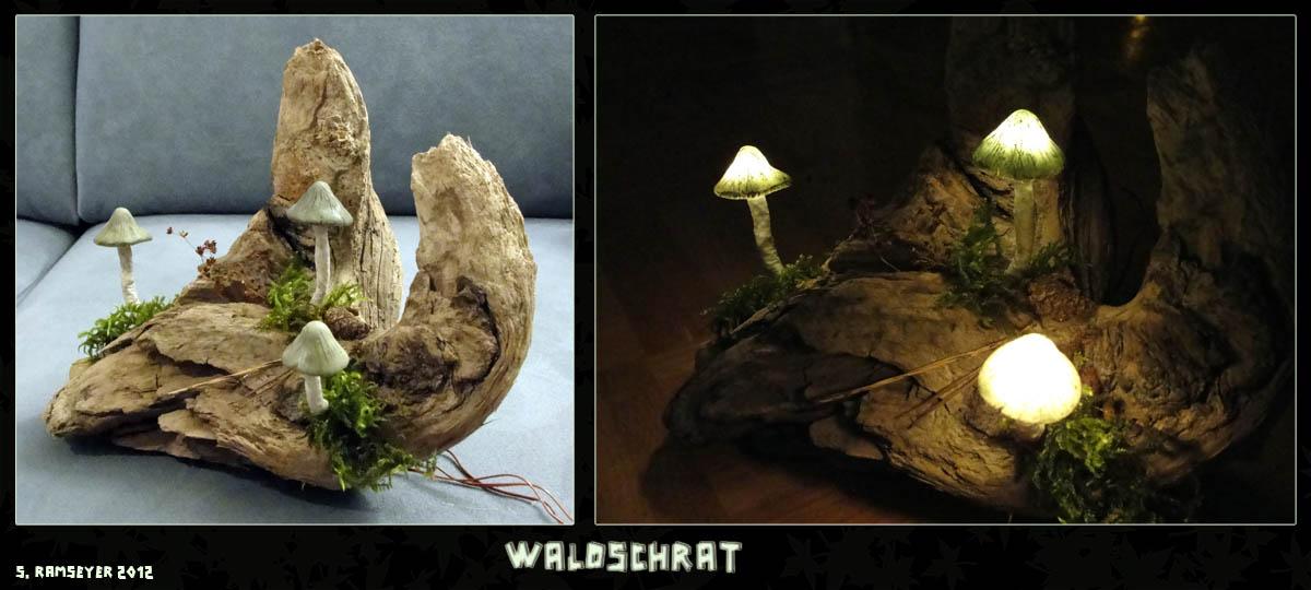 Pilz-Licht Waldschrat by Psydrache