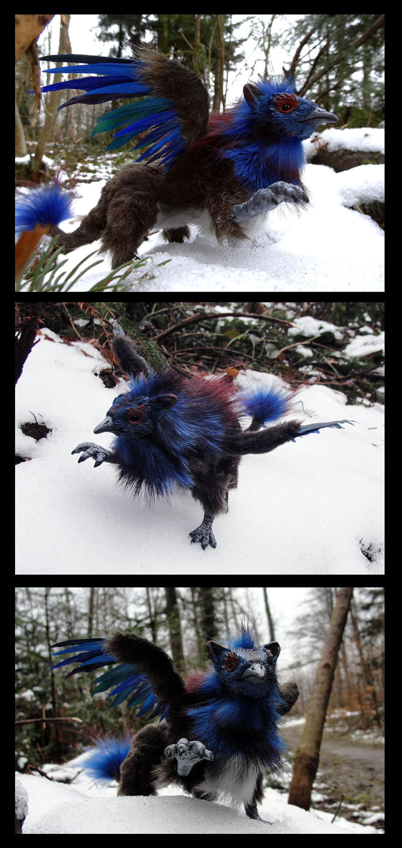 Griffon Art Doll by Psydrache
