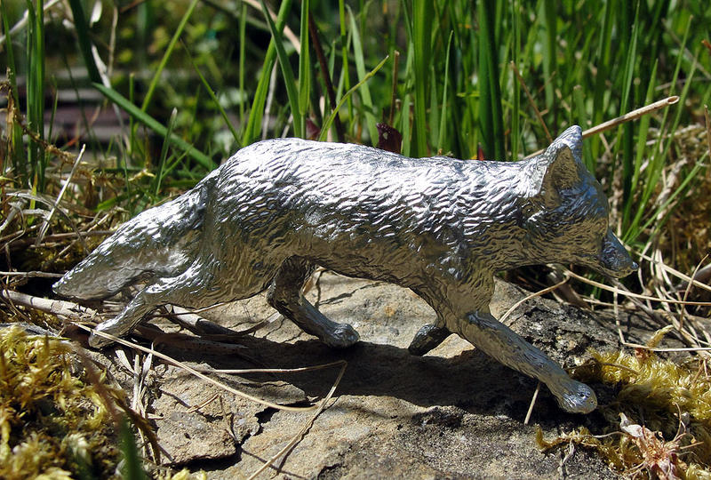Pewter Sly Fox by Psydrache