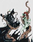 Batman vs. Poison Ivy  Color