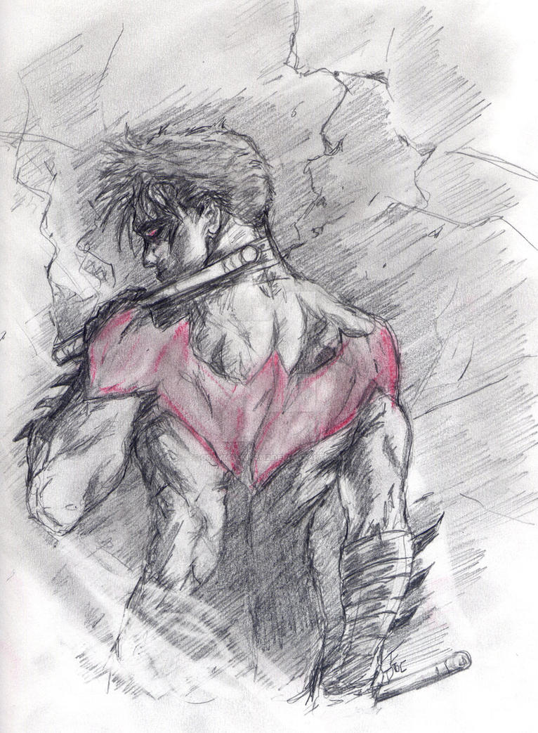 Nightwing New 52 by Graymalkin2112