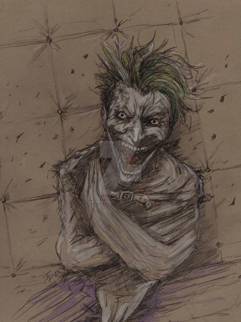 Joker-The Face of Madness by Graymalkin2112