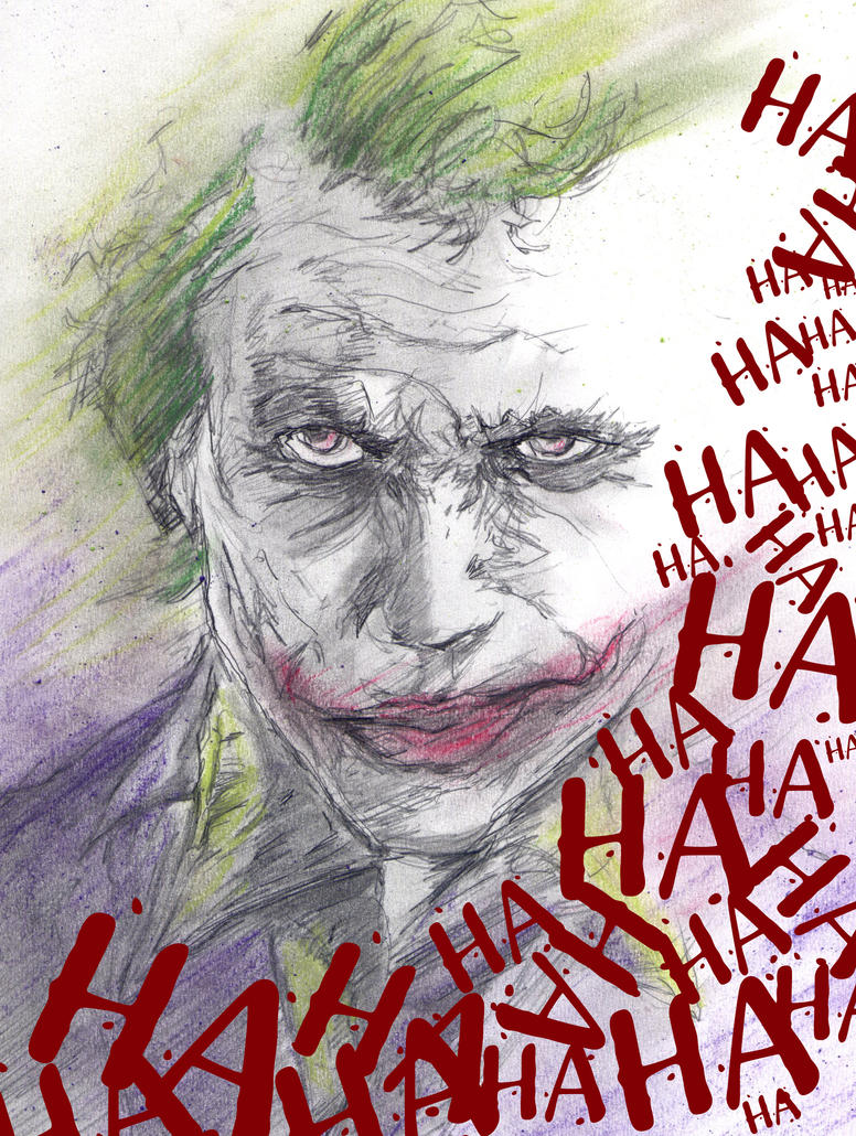 The Joker: The Dark Knight by Graymalkin2112