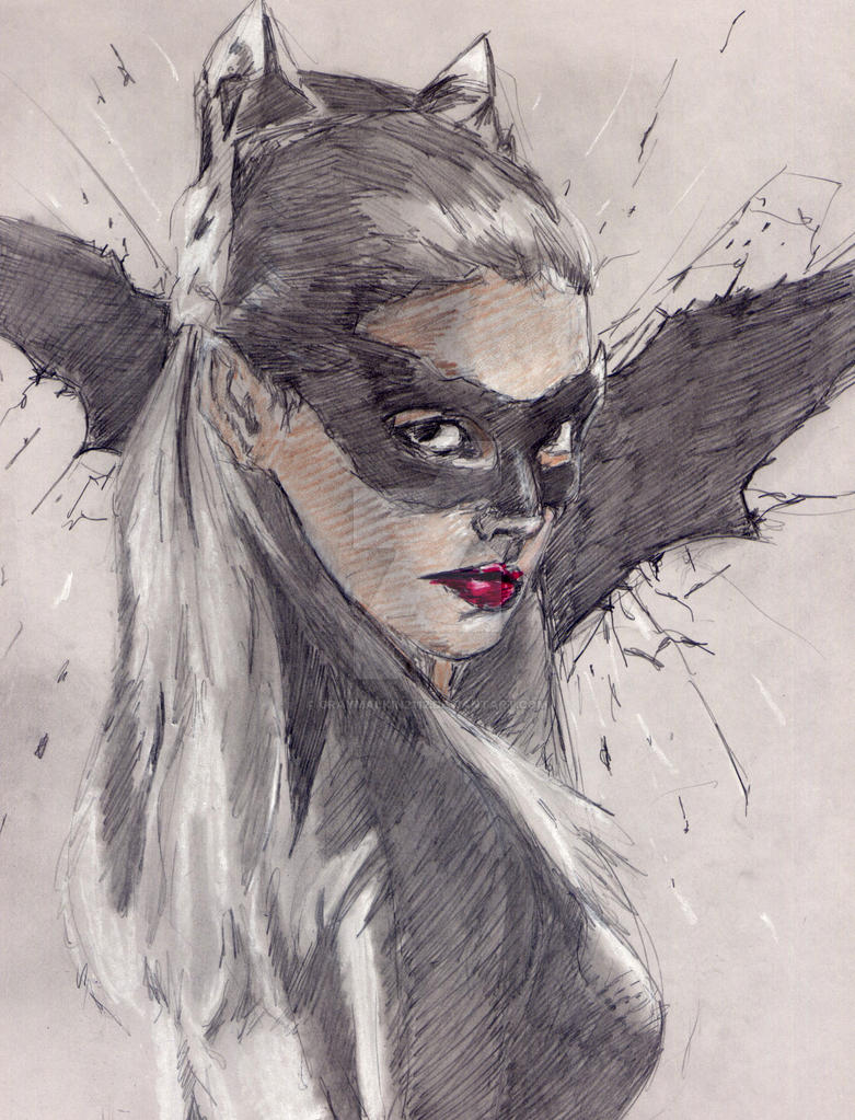 Catwoman: The Dark Knight Rises by Graymalkin2112