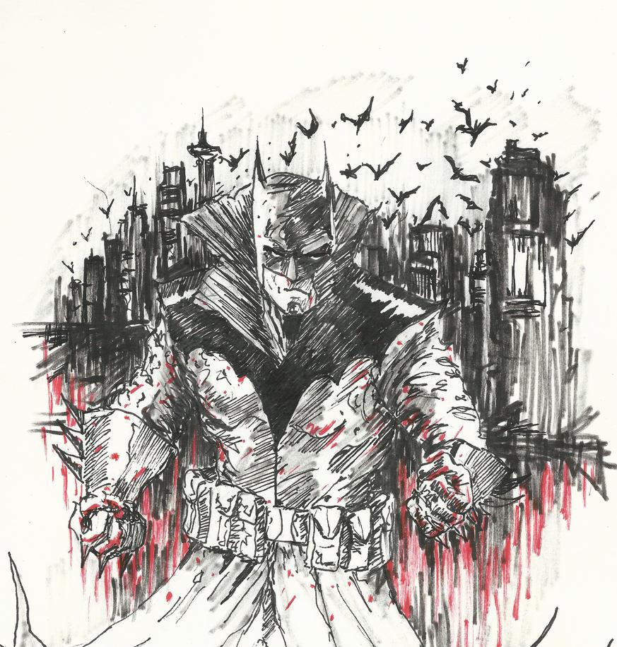 Batman (Damien Wayne) by Graymalkin2112