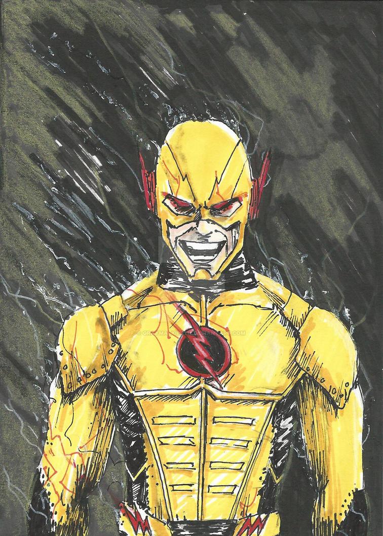 Reverse Flash CW by Graymalkin2112