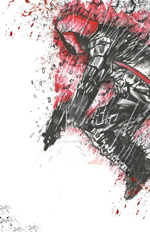 The Red Hood: Arkham Knight by Graymalkin2112